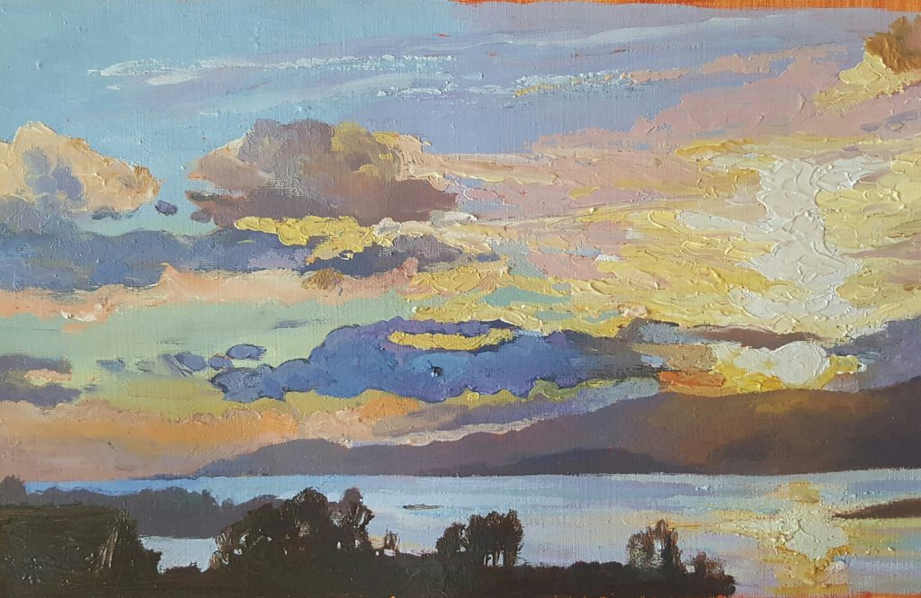 Dunmanus Bay Sunset by Fiona Power