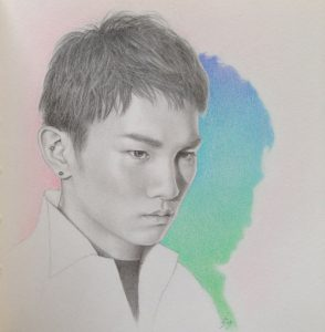 Shinee Key (K Pop Artist) by Felicity Grace
