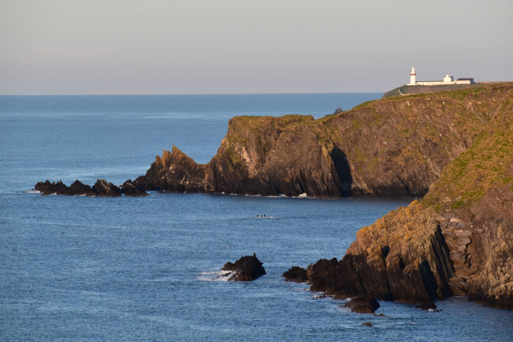 Galley Head Lighthouse from Keameen Point