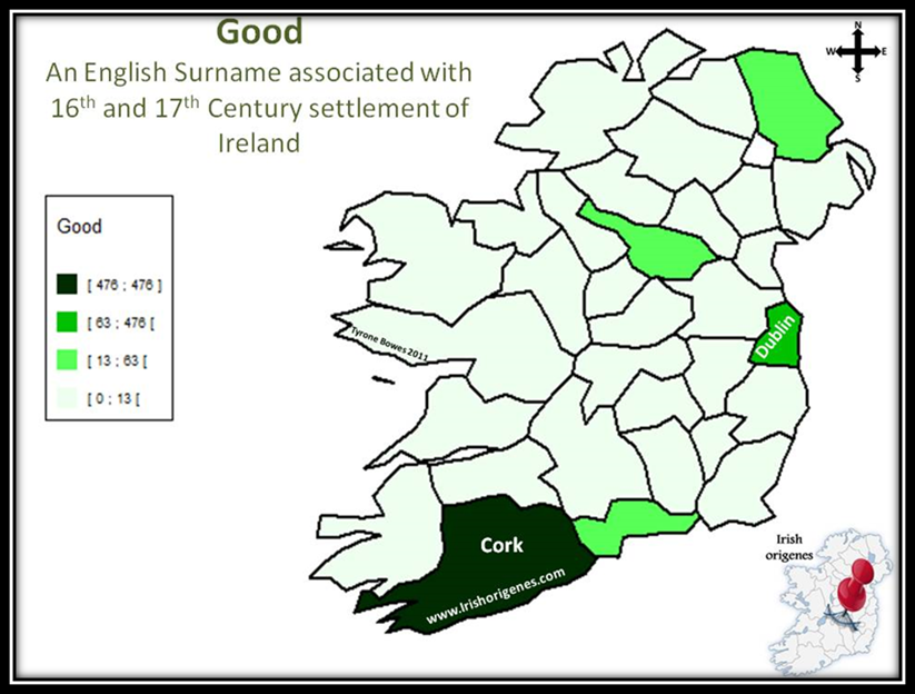 Good Family Distribution in Ireland