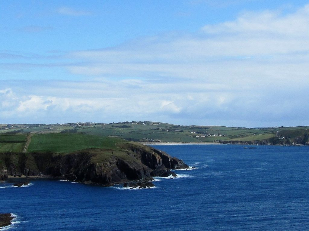 The View from Galley Head Lighthouse