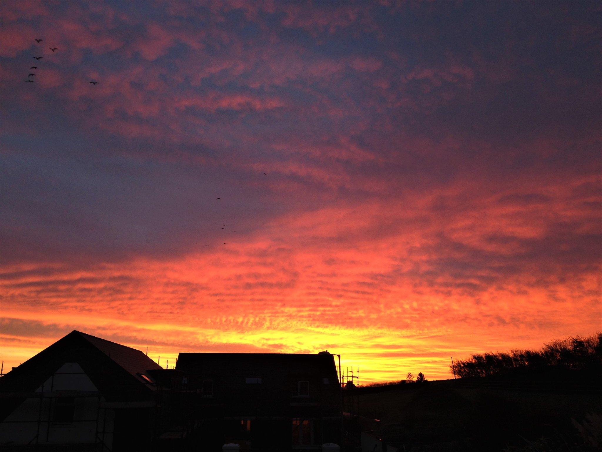 Sunrise between Ophelia & Brian