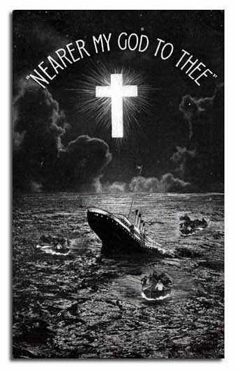 Titanic Sinking - Memorial Postcard