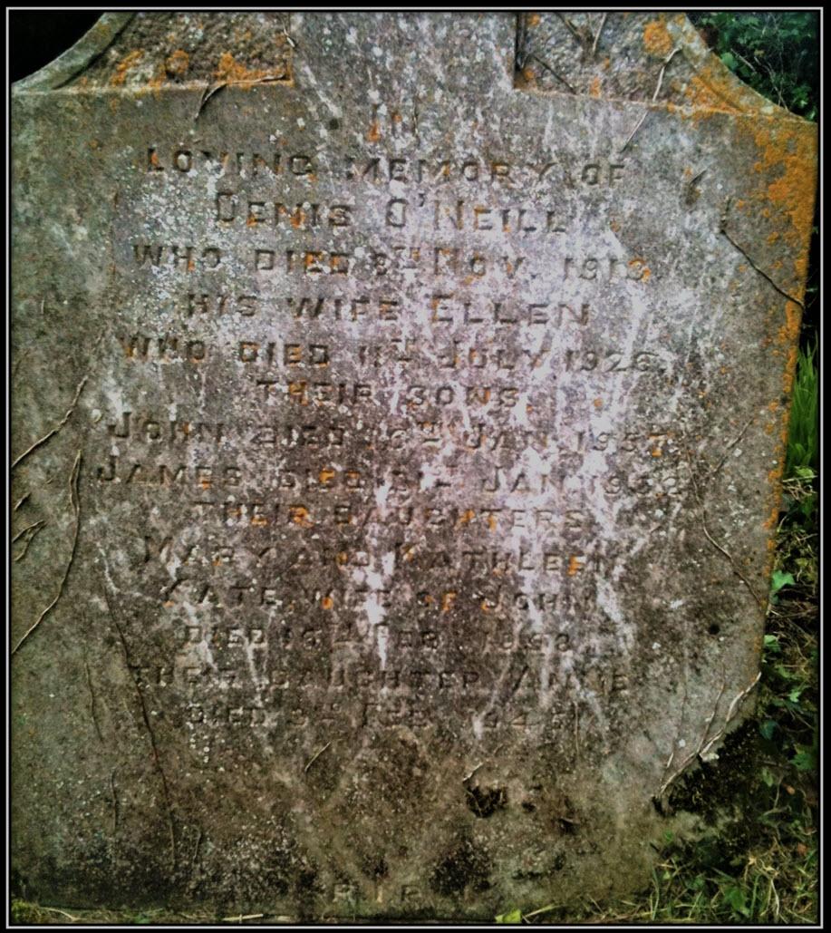 O'NEILL Family Grave at Kilnagross