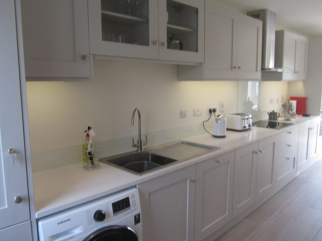 2 Ballynoe Mews Kitchen in Cornforth White