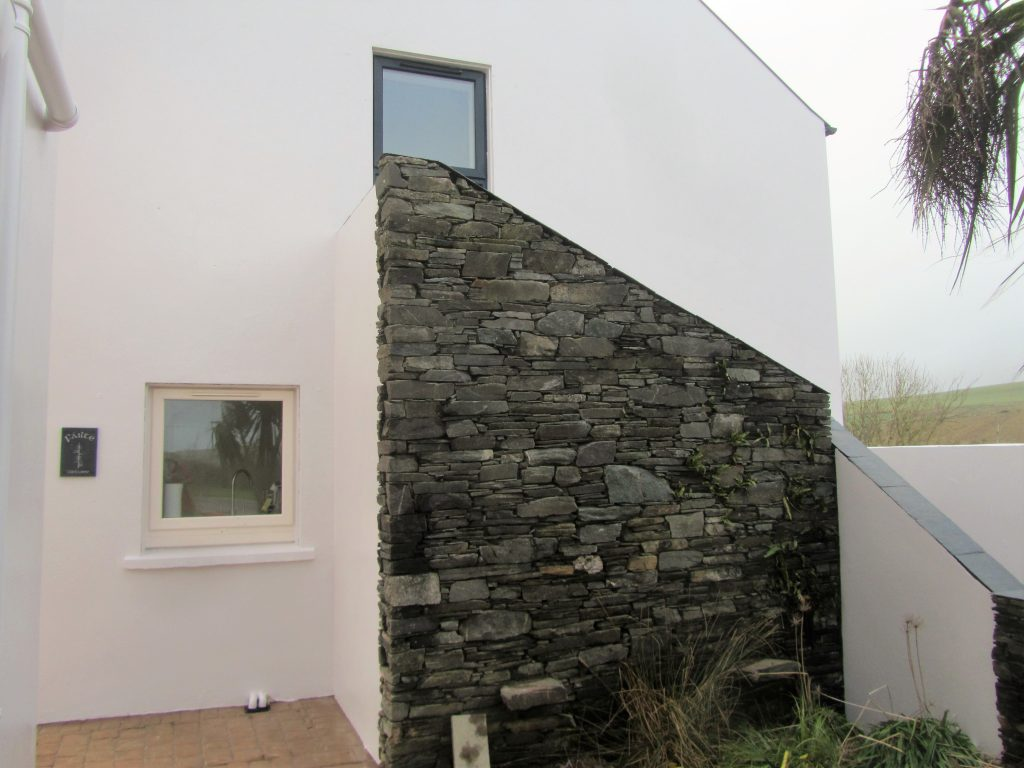 Gable End of 1 Ballynoe Mews (Kitchen & Loft bedroom Windows)