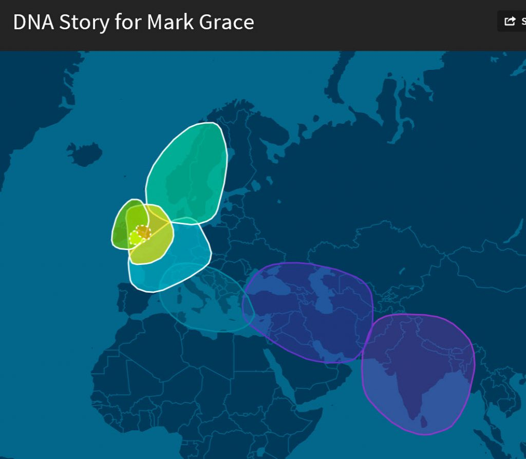 Ancestry DNA Story (Gypsy connection)