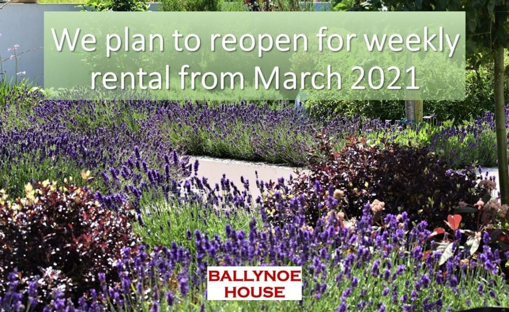 We Plan to Reopen in March 2021